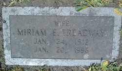 Miriam Elizabeth Mimi <i>Dozier</i> Treadway