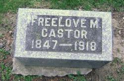 Freelove M. Castor