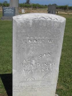 Eddie W Allison