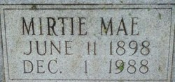 Mirtie Mae Misty <i>Mongold</i> Carter