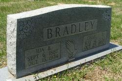 Ida B. <i>Cash</i> Bradley