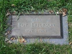 Baby Boy Erickson