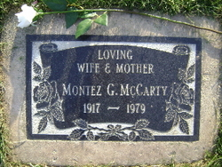 Montez Gertrude <i>Fodge</i> Mc Carty