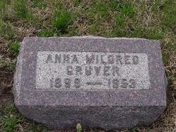 Anna Mildred <i>McCreight</i> Gruver