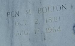 Ben M Bolton
