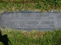 Reba Idell <i>Warren</i> Albright