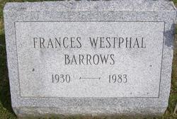 Frances <i>Westphal</i> Barrows