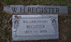 William Henry Register