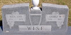 George W Wise