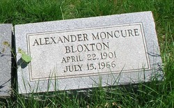 Alexander Moncure Bloxton
