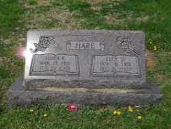 Lucy Della <i>Stange</i> Hare