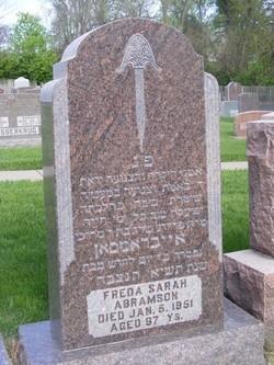 Freda Sarah Abramson