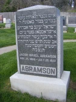 Jacob Israel Abramson
