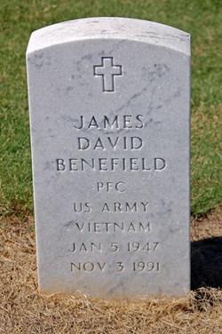 PFC James David Benefield