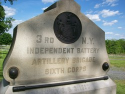3rd New York Independent Battery Monument