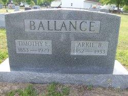 Arkansas B. Arkie Ballance