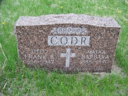 Frank B. 'Otec' Codr