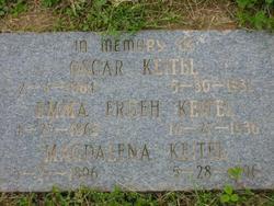 Emma <i>Frueh</i> Keitel