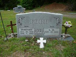 Dorothy <i>Shelton</i> Ford