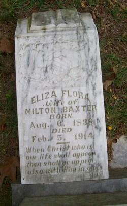 Eliza Flora <i>McEachern</i> Baxter