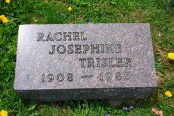 Rachel Josephine <i>Snyder</i> Trisler
