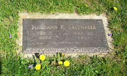 Hermann Kenneth Balthaser