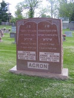 Harry Hirsch Agron