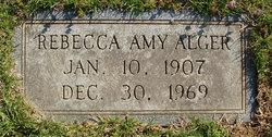 Rebecca Amy Alger