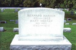 Mary <i>Keenan</i> Marion