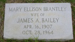 Mary Ellison <i>Brantley</i> Bailey