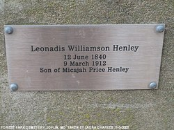 Leonidas Williamson Henley
