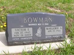 Victor E Vic Bowman
