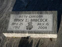Mary Ellen Bitty Grandma <i>Mackie</i> Babcock