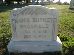 Fannie <i>Burnett</i> Brasfield