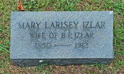 Mary Caroline <i>Larisey</i> Izlar