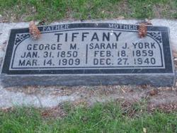 Sarah Jane <i>York</i> Tiffany