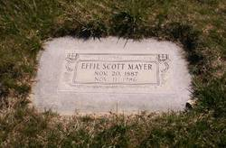 Effie <i>Scott</i> Mayer