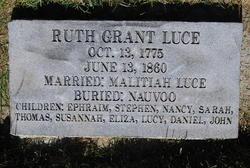 Ruth <i>Grant</i> Luce