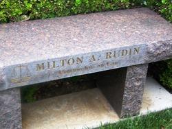 Milton A Mickey Rudin