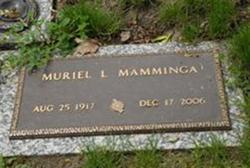 Muriel Louise <i>Miller</i> Mamminga