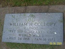 William H Collopy