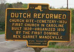 Garrett Mandeville Cemetery