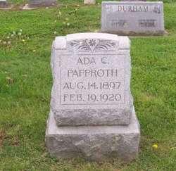 Ada C. <i>Schaeper</i> Papproth