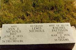 Rachel <i>Nichols</i> Pattison