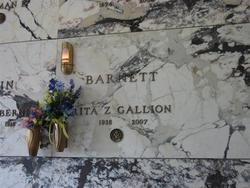 Rita Zoe <i>Gallion</i> Barnett