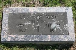 Lela <i>Earp</i> Byrd