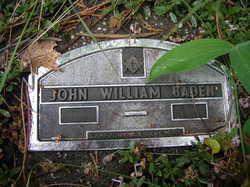 John William Baden