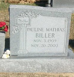 Martha Pauline <i>Mathias</i> Biller