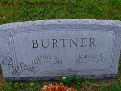 Annie E <i>Deardorff</i> Burtner