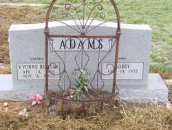 Yvonne <i>Hudson</i> Adams